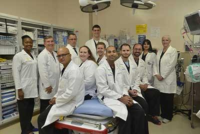 emergency medicine residency program begins july 1 osceola