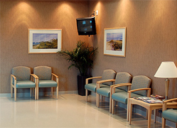 The Wound Healing Center at Osceola Regional Medical Center waiting room